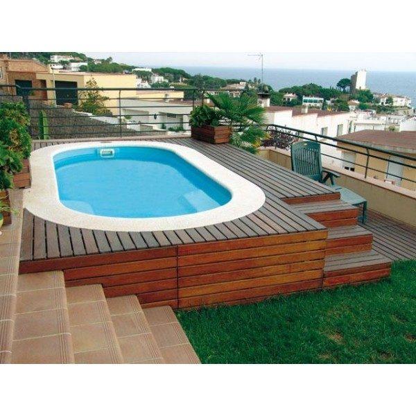 piscina prefabricada hydra 460